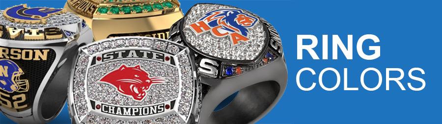 Championship Ring Colors