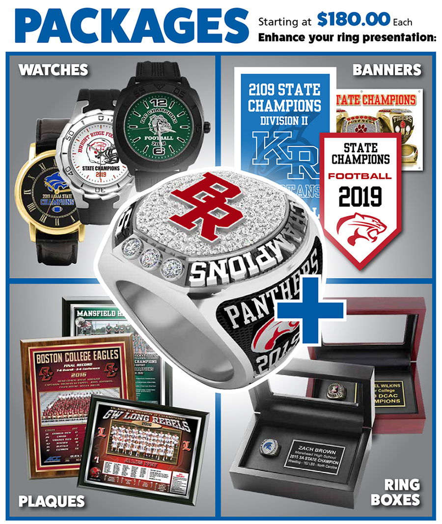 Championship Ring Packages