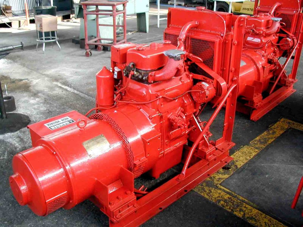 image of detroit diesel 2-71 generators for sale