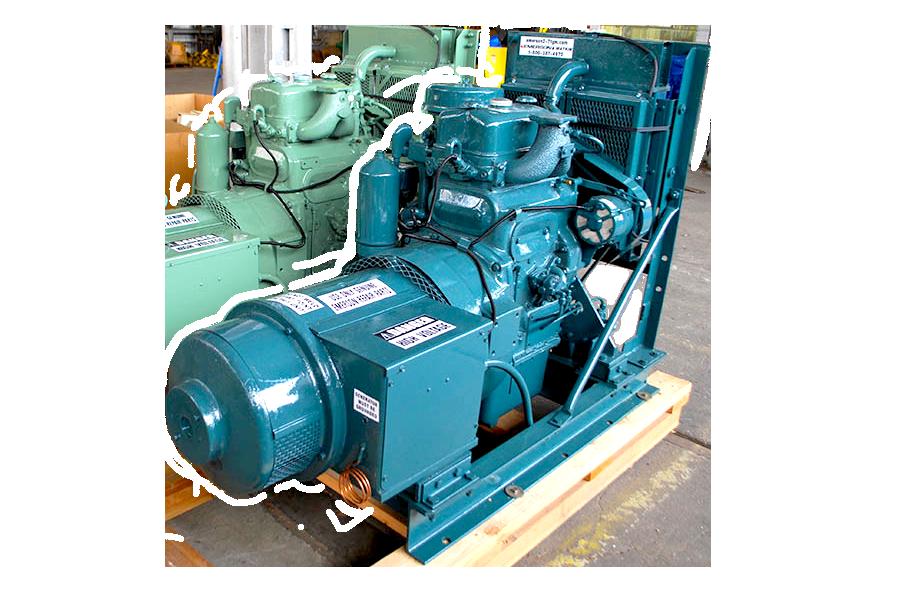 Image of Detroit Diesel Industrial Generator 2-71 for Sale