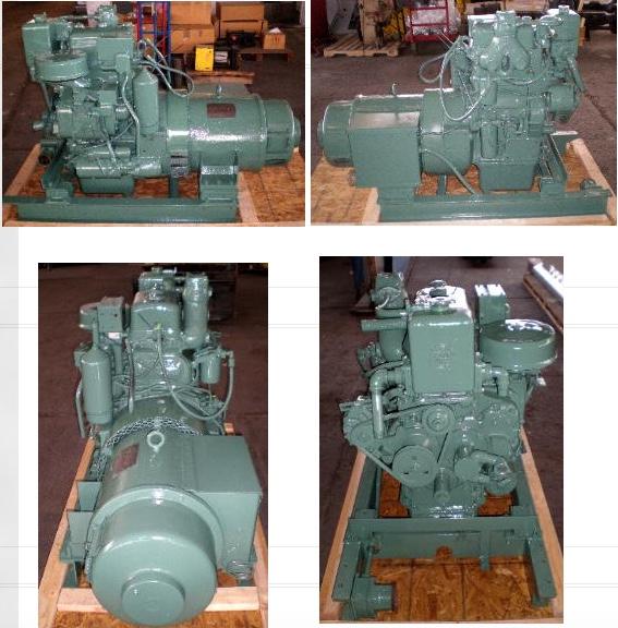 image of marine 2-71 diesel generators
