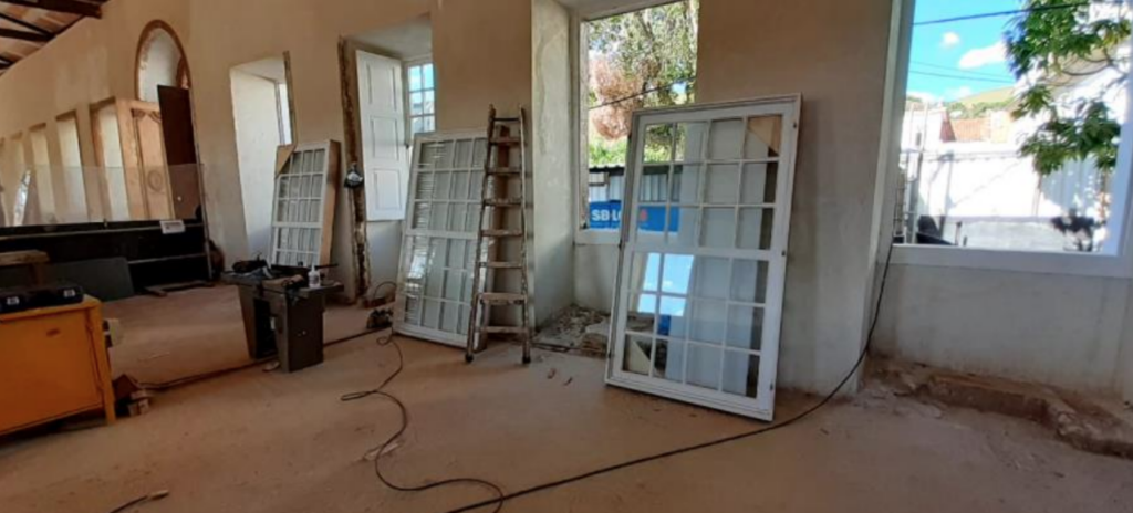 Nova vista: janelas aguardando alocação