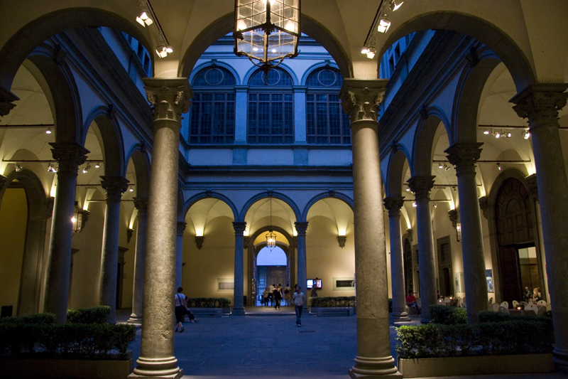 Palazzo Strozzi at Night