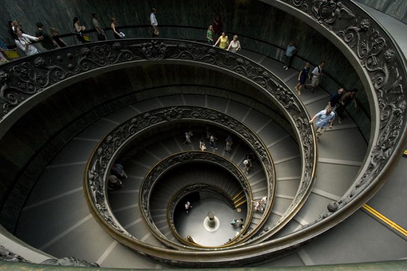Sistine Chapel staircase