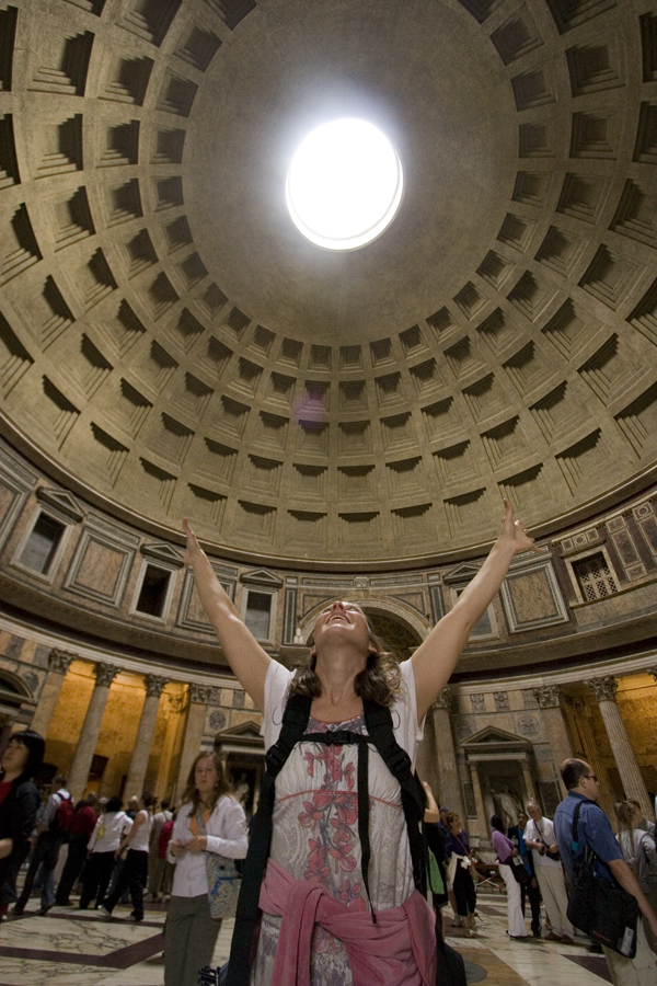 Ecstasy in the Pantheon