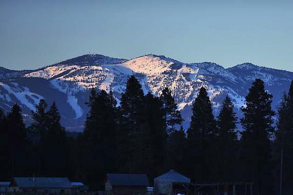 Big Mountain Ski Area in Whitefish Montana