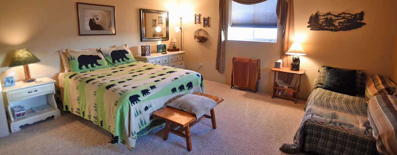 Chisum Lodge in Whitefish Montana Another Bedroom