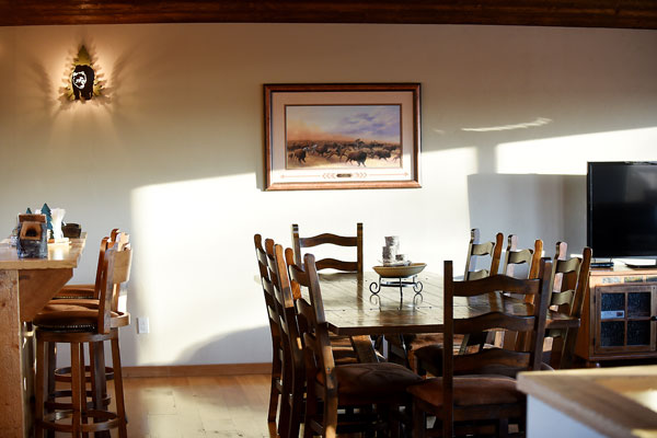 Dining Table Near Kitchen