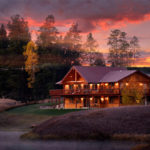 River View Lodge at the River Meadow Ranch in Whitefis