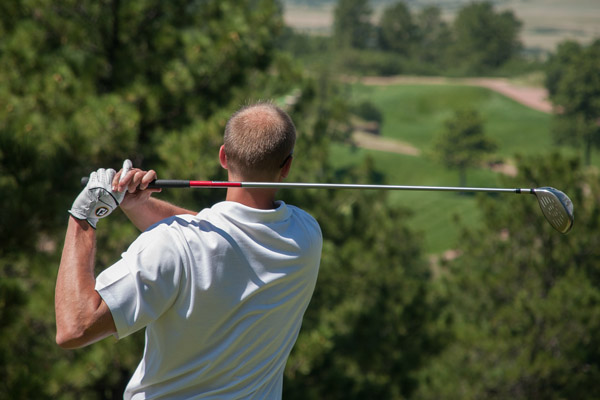 Golfing near Whitefish Montana