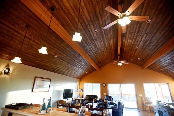 Kitchen Ceiling in Vacation Rental