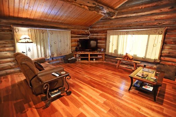 Log-cabin-living-room