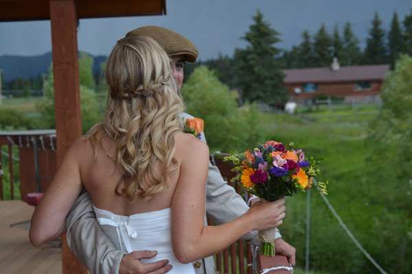Weddings at River Meadow Ranch in Whitefish Montana