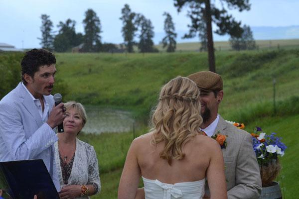 Weddings at a Whitefish, Montana Lodge