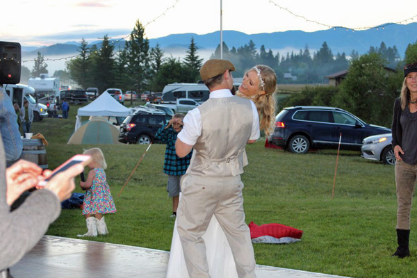 Plan a Wedding on a Whitefish Montana Ranch