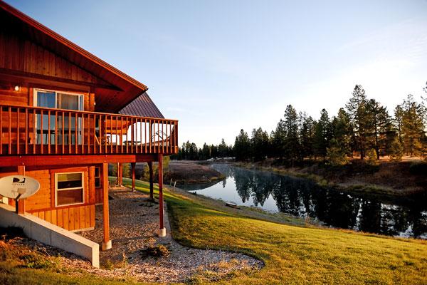 Morning Sun at River View Lodge