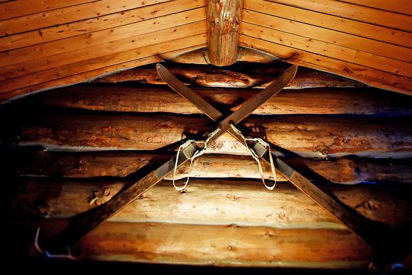 Decor Chisum Lodge in Whitefish Montana