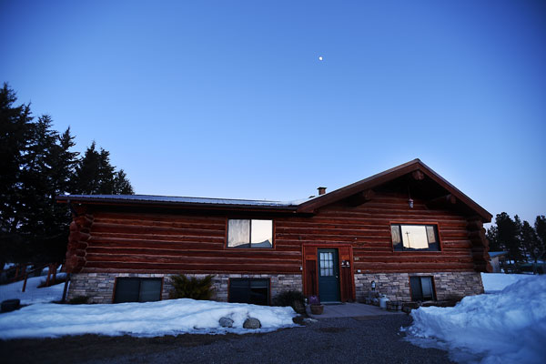 Winter Vacation Rental in Whitefish, the Chisum Lodge