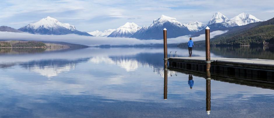 Glacier Park Lake MacDonald