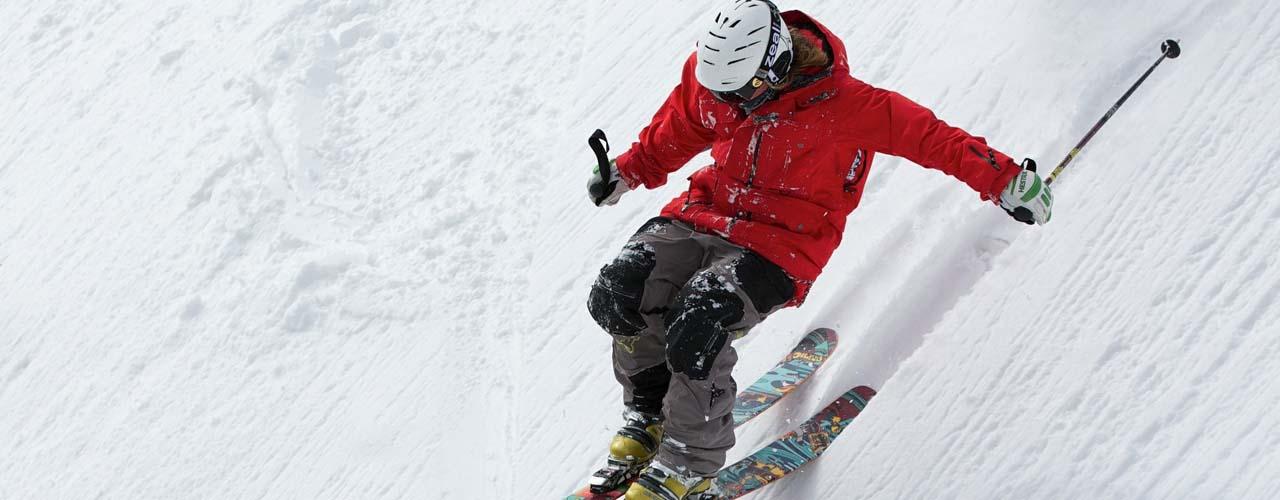Skiing Whitefish Mountain in Montana