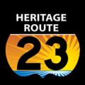 Heritage Route 23 logo