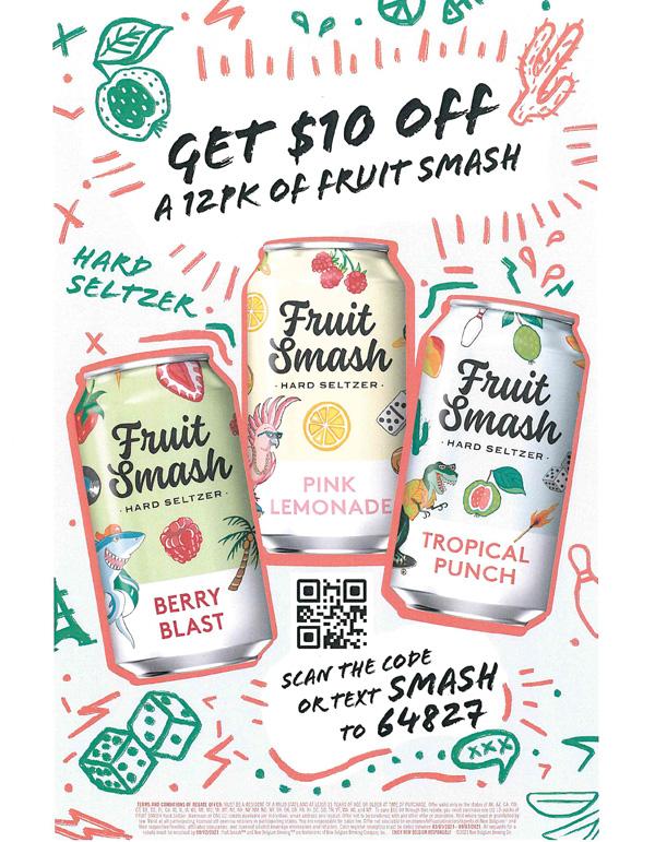 fruit smash rebate