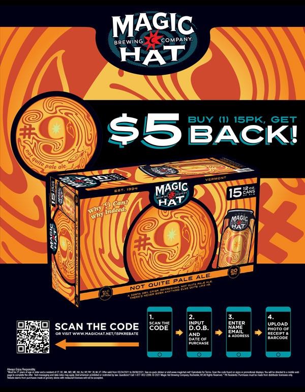 Magic Hat $5 Off