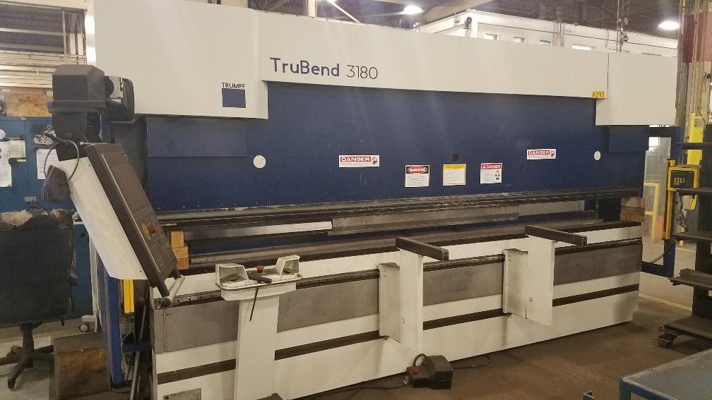 TRUMPF TRUBEND 3180 PRESS BRAKE