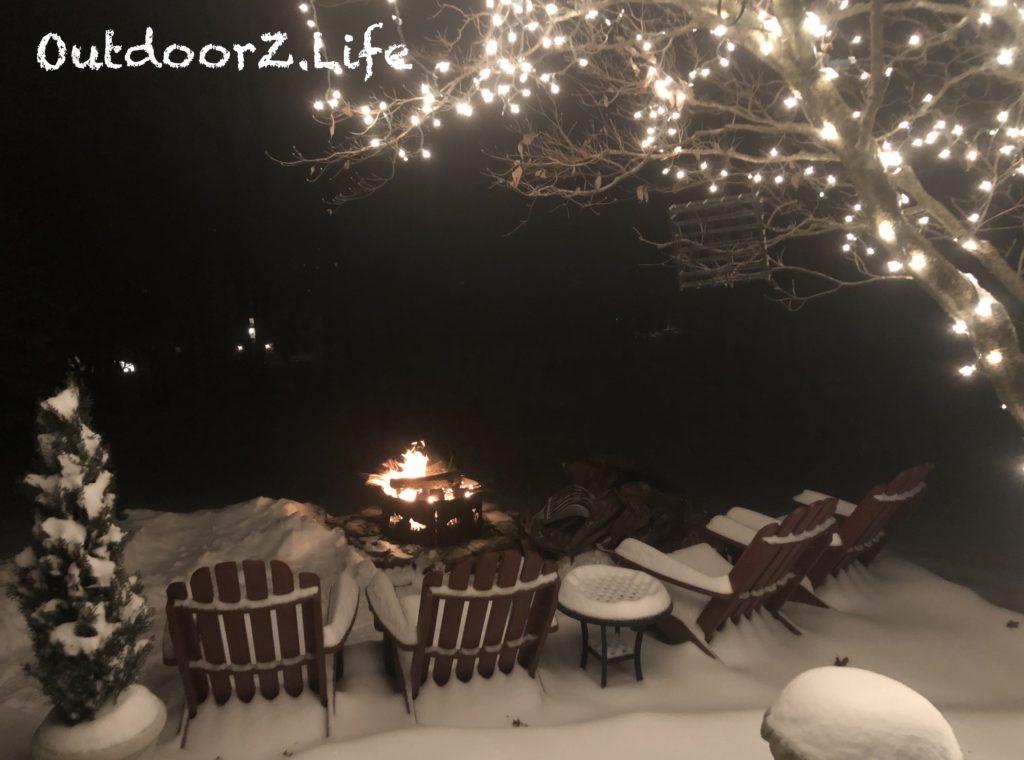 First Snow Fire Pit Outdoorzlife