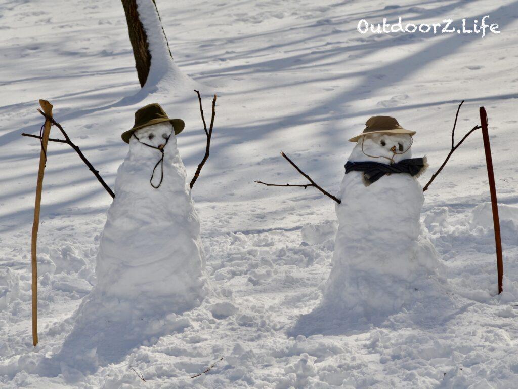 Outdoorzlife snowman