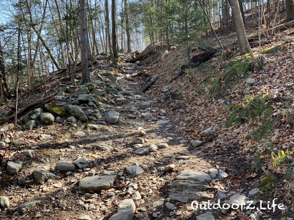 Outdoorzlife, Mount Tammany, Delaware Water Gap, Blue Dot Trail