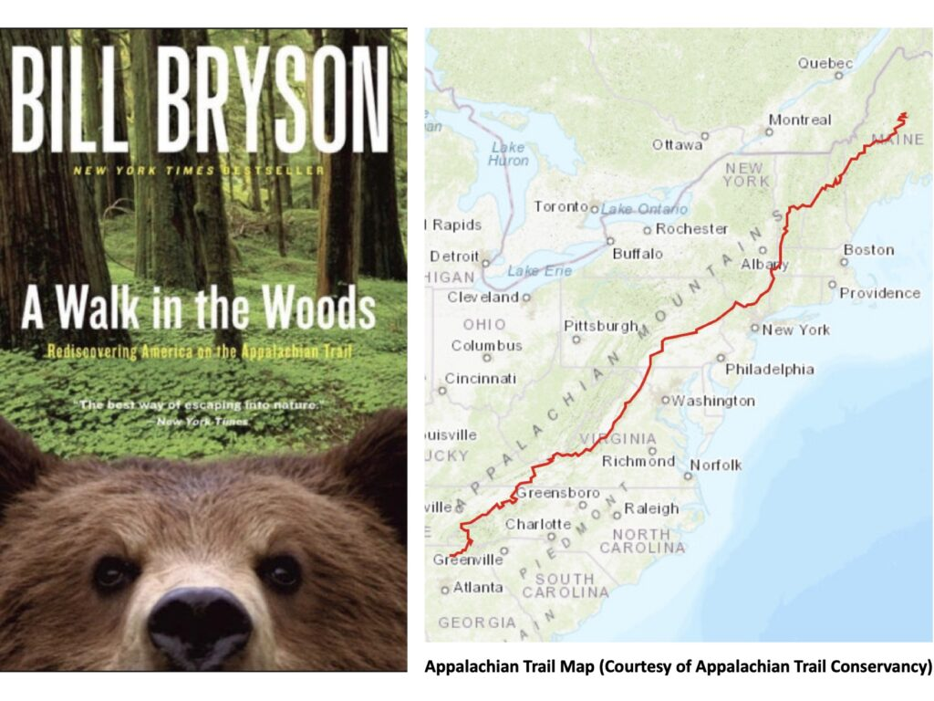 A Walk in the Woods, Bill Bryson, Appalachian Trail, Outdoorzlife