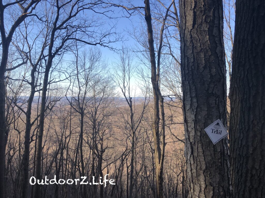 Picture of the view from a local trail.