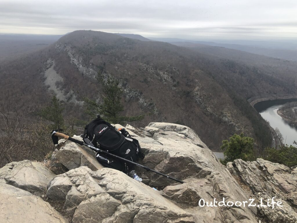 Picture from the summit of a hike at the Delaware Water Gap. National Trails Day 2019.