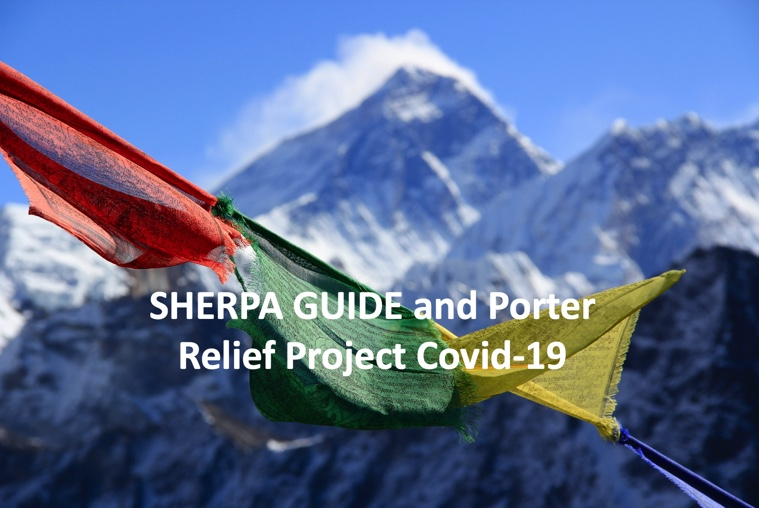 Virtual Everest Climb - Sherpa, Guide and Porter Relief Project
