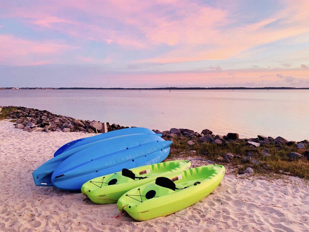 Sit-on top kayaks