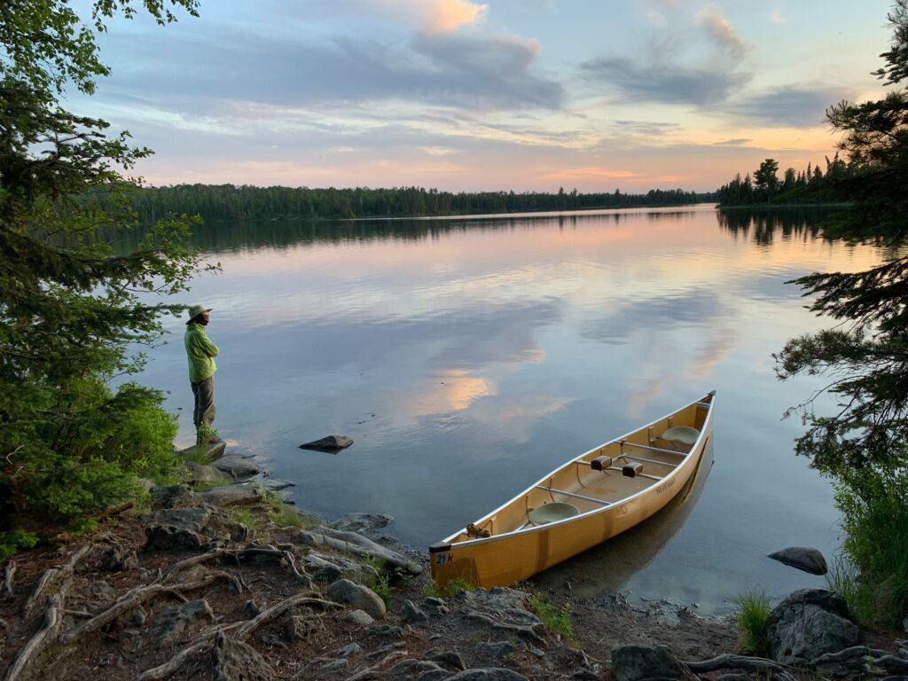 First solo canoe trip