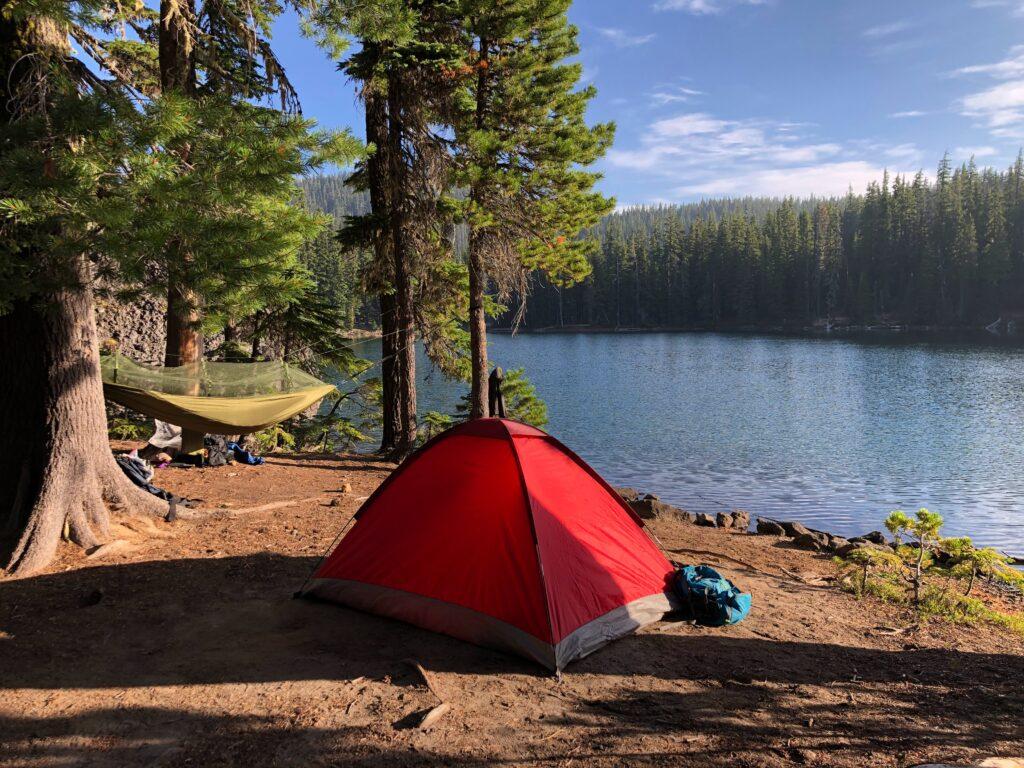Backpacking tent vs hammock