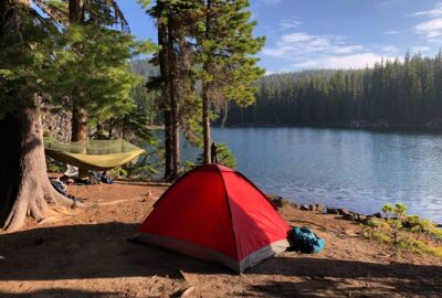 Backpacking tent vs hammock