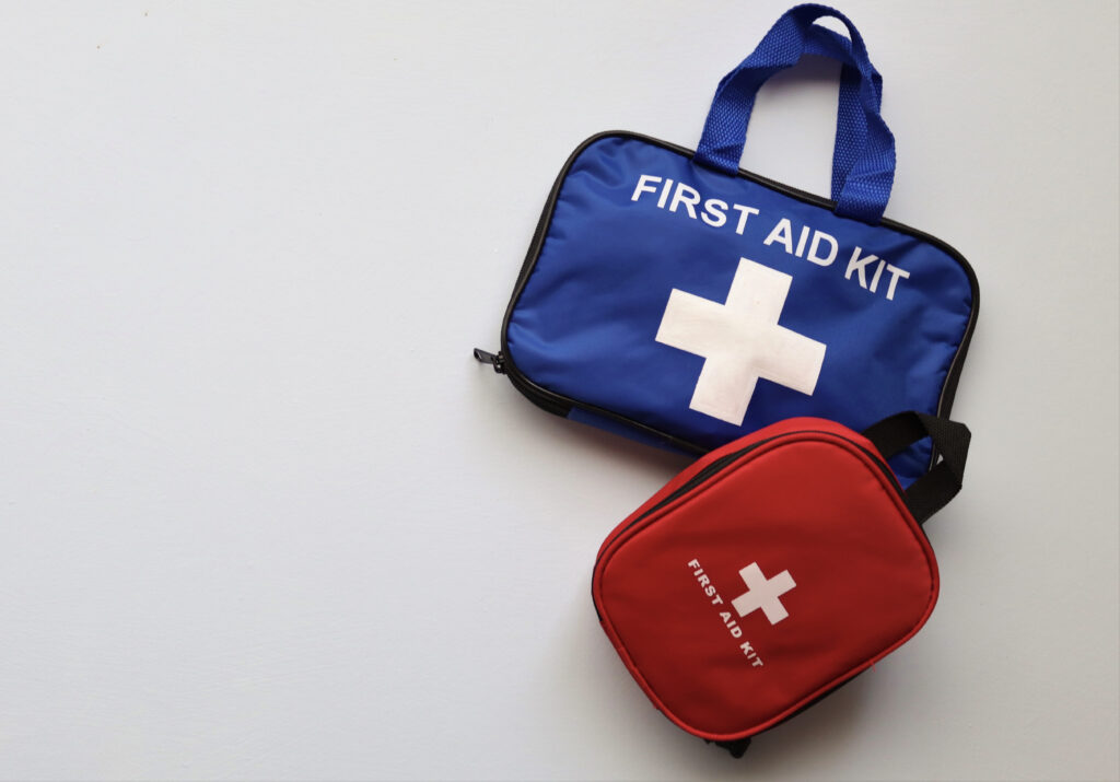 Picture of a first aid kit
