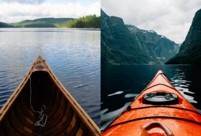 Kayak vs. Canoe