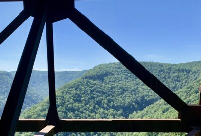 Picture from the New River Gorge Bridge Walk Tour