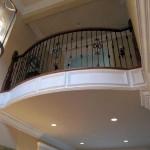 Atherton gallery rail, walnut with iron balusters - 17