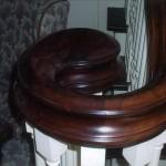 Atherton mahogany volute - 26