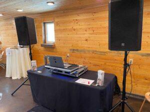 Wedding DJ Setup Used By The Idahoan