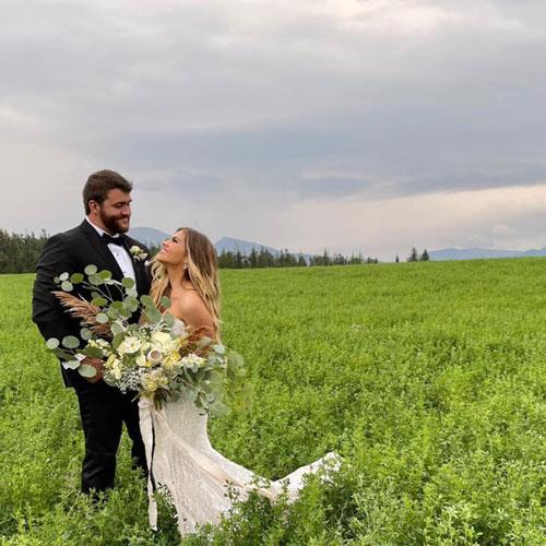 Darien and Sean Lundin Wedding Photo