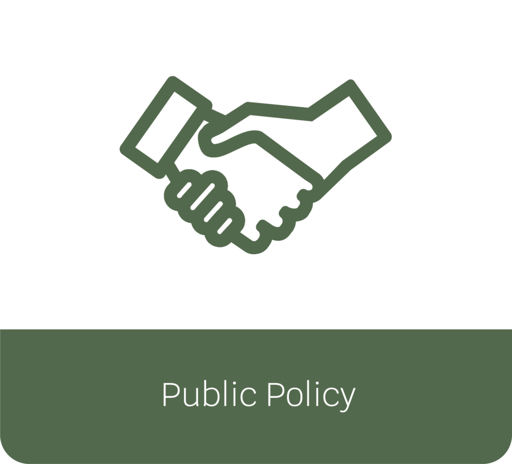 Public Policy button selection