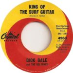 dick dale king of the surf guitar label