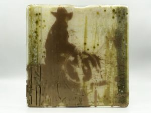 Copper Cowboy | 10 x 10 in | Available - from the artist
