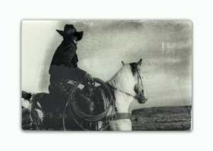 Sombrero Ride | 9 x 14 in | Available - from the artist